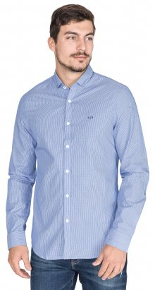 Košile Armani Exchange   Modrá   Pánské   L