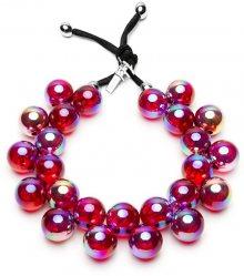 #ballsmania Originální náhrdelník C206S Purple Passion