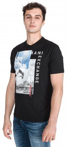 Triko Armani Exchange   Černá   Pánské   L