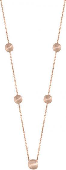 Morellato Růžově zlacený náhrdelník Gemma SAKK99