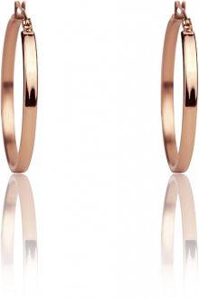 Emily Westwood Ocelové náušnice kruhy WE1020R
