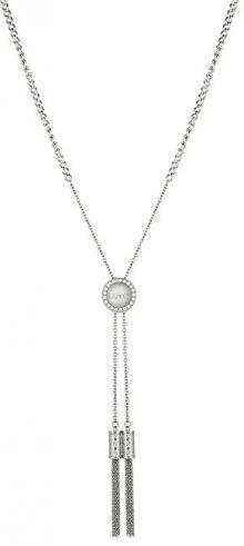 Liu.Jo Ocelový náhrdelník s třásněmi LJ1293