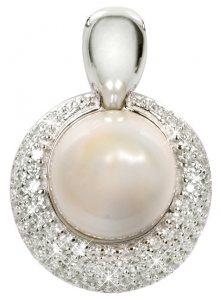 Silver Cat Stříbrný přívěsek s perlou SC128