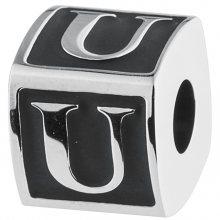 Brosway Ocelový přívěsek Alphabet U TJ Man BTJN64