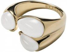 Skagen Módní zlatý prsten SKJ0747710 57 mm