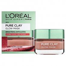 L´Oréal Paris Exfoliační vyhlazující maska Pure Clay (Glow Mask) 50 ml