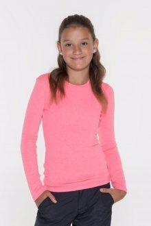 Sam 73 Dívčí triko s dlouhým rukávem Sam 73 růžová neon 128