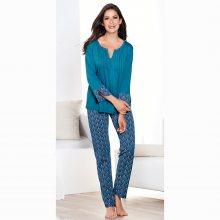 Venca Pyžamo s dlouhými kalhotami tmavě modrá S