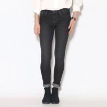 Venca Úzké skinny džíny s 5 kapsami černá 36