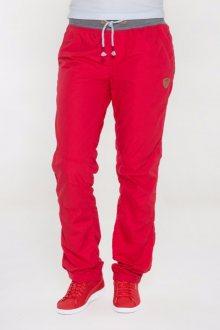Sam 73 Dámské bavlněné kalhoty Sam 73 červená S