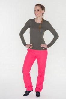 Sam 73 Dámské šusťákové kalhoty Sam 73 růžová neon S