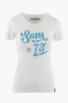 Sam 73 Dámské triko s krátkým rukávem Sam 73 bílá S
