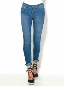 Venca Úzké skinny džíny s 5 kapsami denim 36