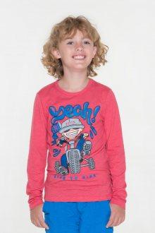 Sam 73 Chlapecké triko s potiskem Sam 73 červená 116