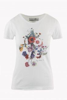 Sam 73 Dámské triko s potiskem LOVE Sam 73 bílá XL