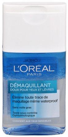 L´Oréal Paris Dvoufázový odličovač očí a rtů (Gentle Make-Up Remover for Eyes & Lips) 125 ml