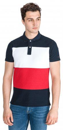 Polo triko Tommy Hilfiger   Modrá Červená Bílá   Pánské   M