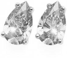 Oliver Weber Stříbrné náušnice s krystalem Pear 62089 WHI