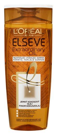 L´Oréal Paris Vyživující šampon s kokosovým olejem na normální až suché, nepoddajné vlasy Elseve Extraordinary Oil 250 ml