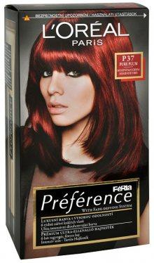 L´Oréal Paris Barva na vlasy Féria Préférence P37 Pure Plum