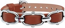 Tommy Hilfiger Hnědý kožený náramek TH2700556