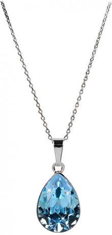Troli Oslnivý náhrdelník Pear Aqua