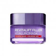 L´Oréal Paris Pleťová maska proti vráskám s kyselinou hyaluronovou Revitalift Filler (Replumping Mask) 50 ml
