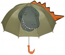 Blooming Brollies Dětský vystřelovací deštník Dinosaur Umbrella For Kids