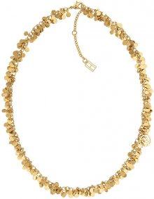 Tommy Hilfiger Pozlacený penízkový náhrdelník TH2780018