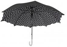 Blooming Brollies Dámský holový deštník Inside Print Walking Stick Style Umbrella 21217