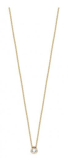 Esprit Pozlacený stříbrný náhrdelník ESNL00791442