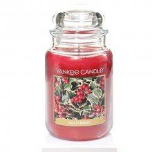 Yankee Candle Aromatická svíčka velká Kuličky cesmíny (Hollyberry) 623 g