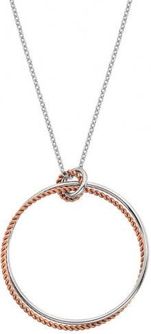 Hot Diamonds Stříbrný náhrdelník s pravým diamantem Jasmine RG DP740