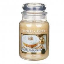 Yankee Candle Aromatická svíčka velká Dýňový koláč (Luscious Pumpkin Trifle) 623 g