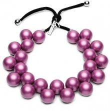 #ballsmania Originální náhrdelník C206M 18-3015 Viola Ametista