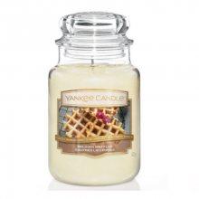 Yankee Candle Aromatická svíčka velká Belgická vafle (Belgian Waffles) 623 g