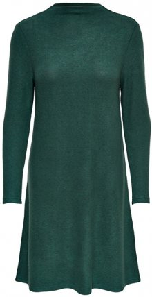 ONLY Dámské šaty ONLKLEO L/S DRESS KNT NOOS Green Gables XS