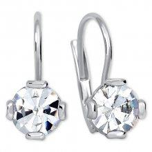 Brilio Silver Decentní náušnice s krystalem 436 001 01768 04 - 1,48 g