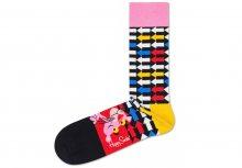 Pink Panther Jet Pink Ponožky Happy Socks   Vícebarevná   Pánské   36-40