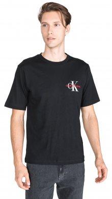 Monogram Triko Calvin Klein | Černá | Pánské | L