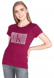 Monogram Triko Calvin Klein | Červená Růžová | Dámské | L