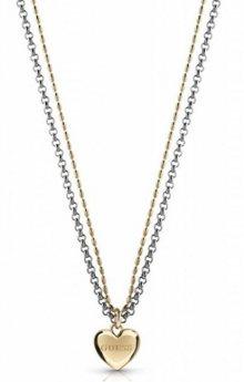 Guess Romantický náhrdelník se srdíčkem UBN78076