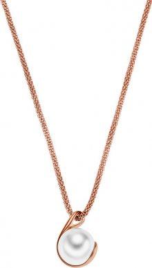Skagen Bronzový náhrdelník s perlou SKJ0652791