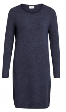 Vila Dámské šaty VIRIL L/S KNIT DRESS - NOOS Total Eclipse XS