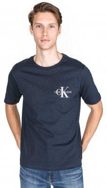 Monogram Triko Calvin Klein | Modrá | Pánské | L