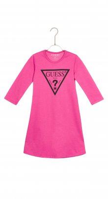 Šaty dětské Guess   Růžová   Dívčí   3 roky