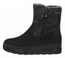 Tamaris Dámské kotníkové boty 1-1-26483-23-098 Black Comb 37