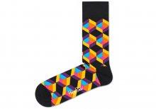 Optiq Square Ponožky Happy Socks | Černá Vícebarevná | Pánské | 41-46