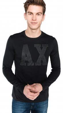 Triko Armani Exchange | Černá | Pánské | XL