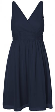 Vero Moda Dámské šaty Josephine Sl Above Knee Dress Color Night Sky M